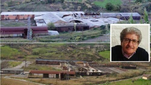 Raffronto dello stato ante e post bonifica, ex fabbrica laterizi FIL di Santa Caterina Albanese