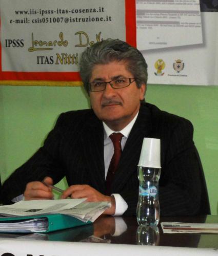 Coordinatore Provinciale ONA Cosenza ing, Giuseppe Infusini