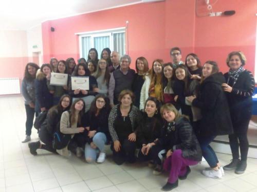 Foto di gruppo IPSIA-ITI con ONA